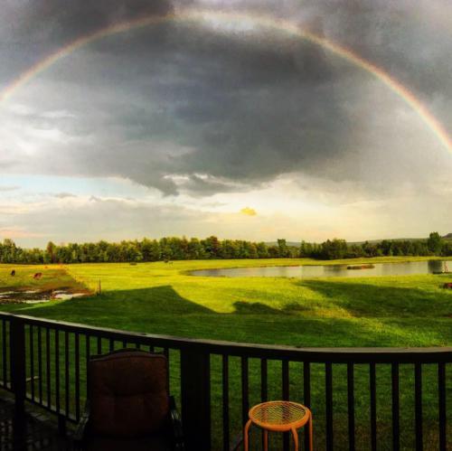 Rainbow over Boyd Family Ranch